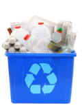 plastics recycling box
